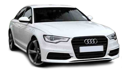 High Quality Audi A6 2013 White Black Edition